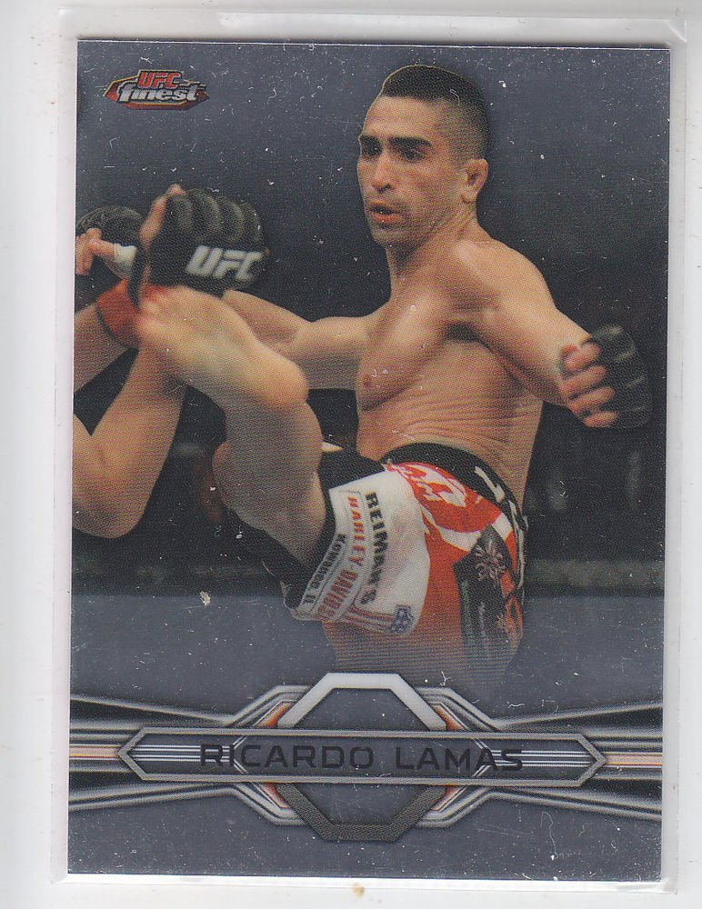 Ricardo Lamas Trading Card Single 2013 Topps UFC Finest #75