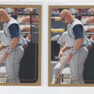 Jay Buhner Trading Card Lot of (2) 1999 Topps #376 Mariners