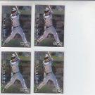 Jay Buhner Trading Card Lot of (4) 1999 UD Black Diamond #79 Mariners