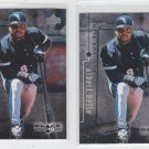 Albert Belle Trading Card Lot of (2) 1999 UD Black Diamond #22 Whtie Sox