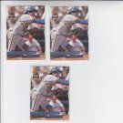 Joe Kmak Trading Card Lot of (3) 1993 Fleer Ultra #570 Brewers