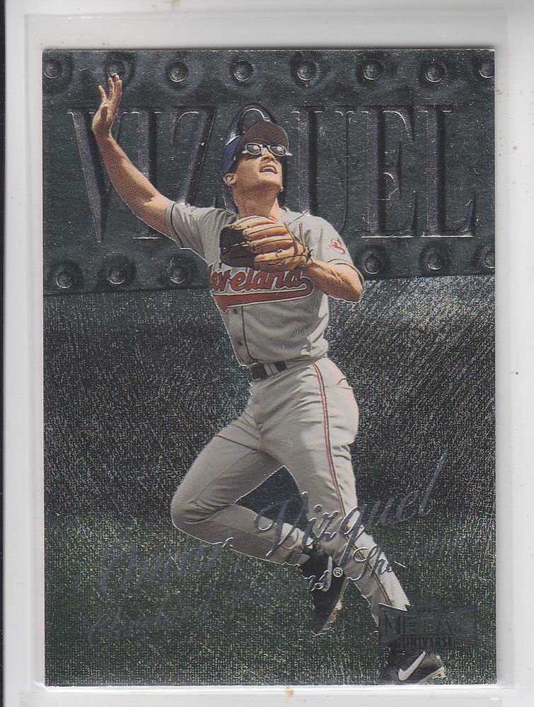 Omar Vizquel Trading Card Single 1999 Skybox Metal Universe #170 Indians