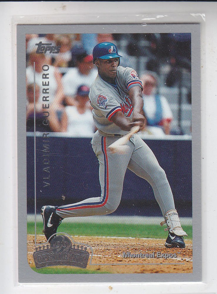 Vladimir Guerrero Trading Card 1999 Topps Opening Day #34 Expos