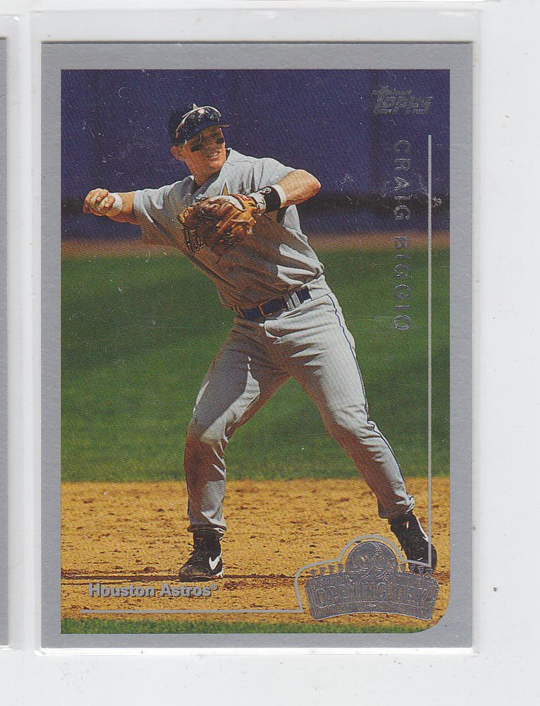 Craig Biggio Trading Card Single 1999 Topps Opeing Day #114 Astros