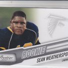 Sean Weatherspoon RC Trading Card Single 2010 Panini Certified #290 Falcons