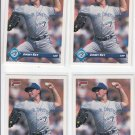 Jimmy Key Trading Card Lot of (4) 1993 Donruss #710 Blue Jays
