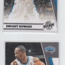 Dwight Howard Lot of (2) 2011-12 Panini Season Update #97 Magic