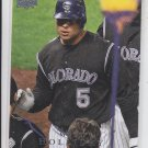 Matt Holliday Trading Card Single 2008 Upper Deck #375 Rockies