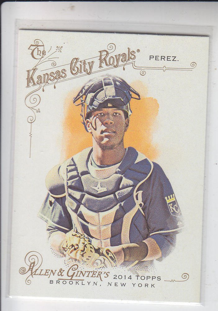 Salvador Perez Trading Card Single 2014 Topps Allen & Ginter #282 Royals