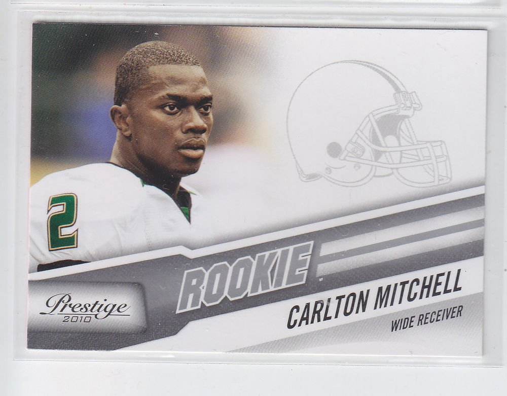 Carlton Mitchell RC Trading Card Single 2010 Panini Certified #217 Browns