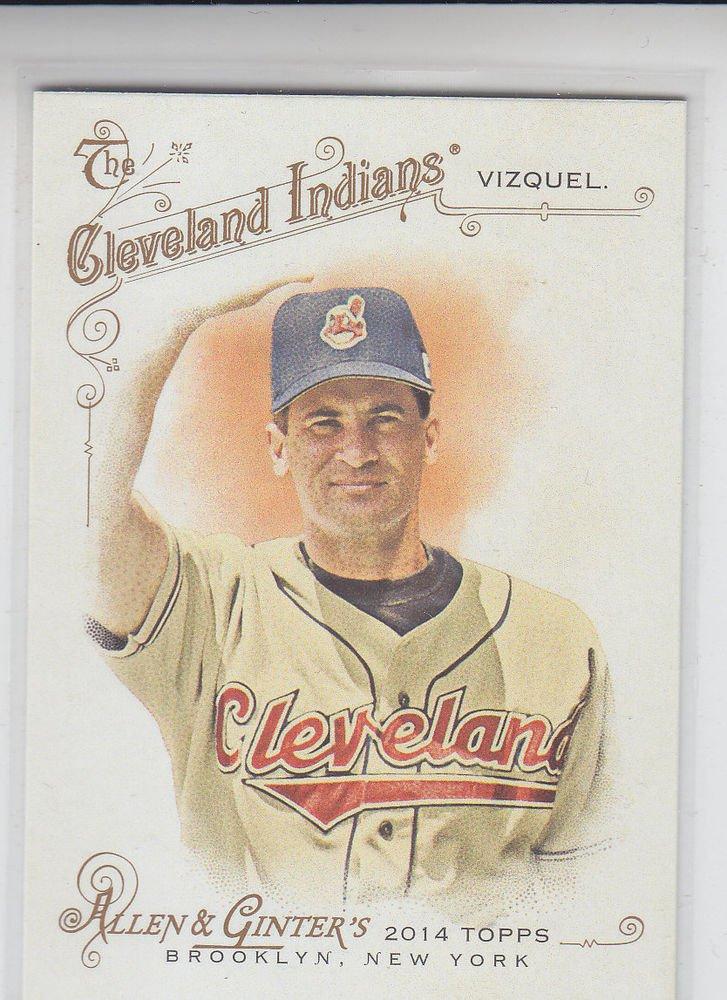 Omar Vizquel Trading Card Single 2014 Topps Allen & Ginter #87 Indians