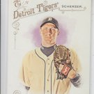 Max Scherzer Trading Card Single 2014 Topps Allen & Ginter #146 Tigers
