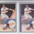 Gary Disarcina Trading Card Lot of (2) 1993 Fleer #188 Angels