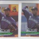 Lee Tinsley Trading Card Lot of (2) 1993 Fleer Ultra #624 Mariners