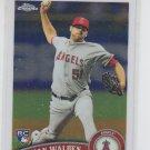 Jordan Walden RC Trading Card Single 2011 Topps Chrome #183 Angels