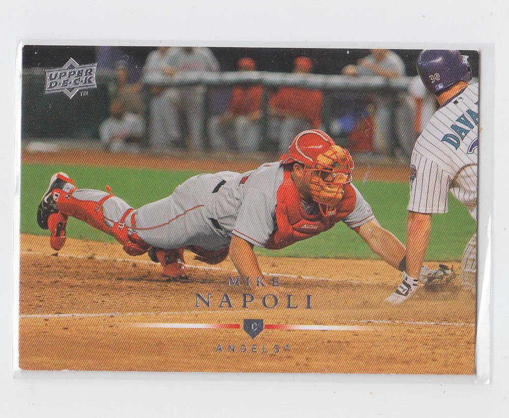 Mike Napoli Trading Card Single 2008 Upper Deck #6 Angels