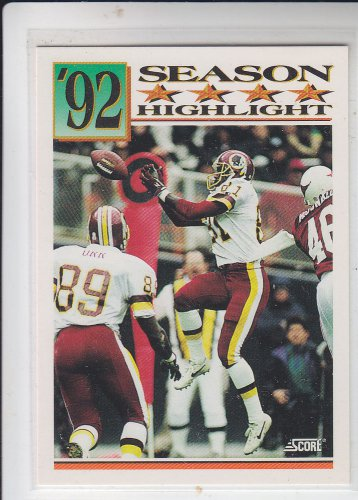 Art Monk Trading Card Single 1992 Score #433 Redskins