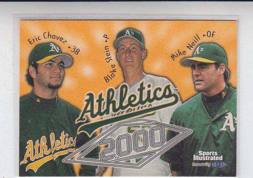 Eric Chavez Trading Card Single 1999 Fleer Sports Illustrated #44 Athletics