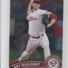 Roy Halladay Trading Card Single 2011 Topps Chrome #75 Phillies