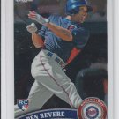 Ben Revere RC Trading Card Single 2011 Topps Chrome #175 Twins