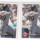 Steve Hosey Rated Rookie RC Trading Card Lot of (2) 1993 Donruss #704 Giants