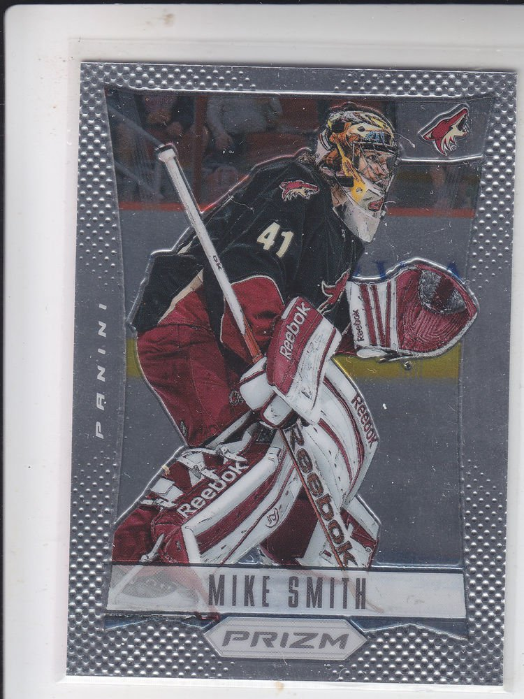 Mike Smith Trading Card Single 2012-13 Panini Anthology Prizm #37 Coyotes