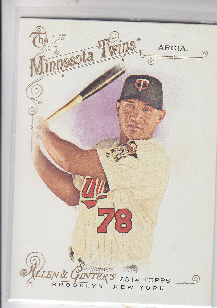 Oswaldo Arcia Trading Card Single 2014 Topps Allen & Ginter #51 Twins