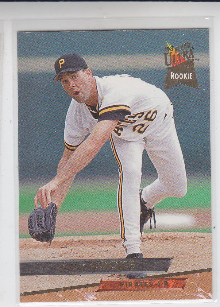 Steve Cooke Trading Card Single 1993 Fleer Ultra #449 Pirates