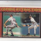 Jerry DiPoto Julian Tavarez RC Gold Trading Card 1994 Topps #767 Indians