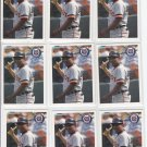 Alan Trammell Trading Card Lot of (9) 1994 Fleer #144 Tigers