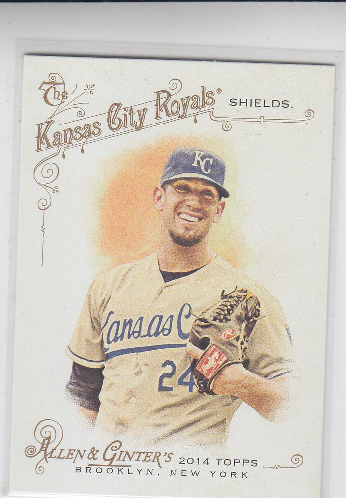 James Shields Trading Card Single 2014 Topps Allen & Ginter #237 Royals