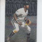 Edgar Renteria Trading Card Single 1999 Skybox Metal Universe #32 Marlins