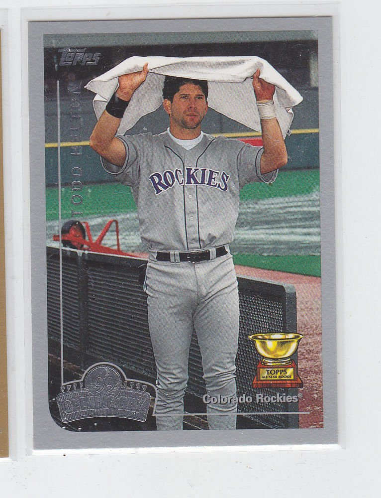 Todd Helton Trading Card 1999 Topps Opening Day #29 Rockies