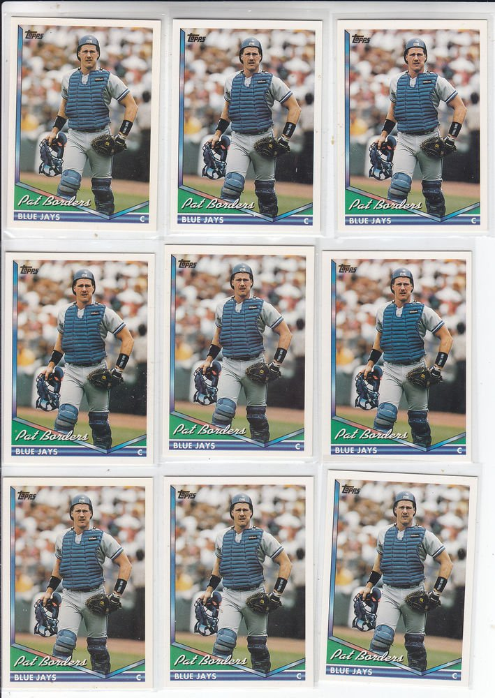 Ken Caminiti Trading Card Lot of (8) 1994 Topps #646 Indians