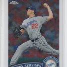 Clayton Kershaw Trading Card Single 2011 Topps Chrome #107 Dodgers
