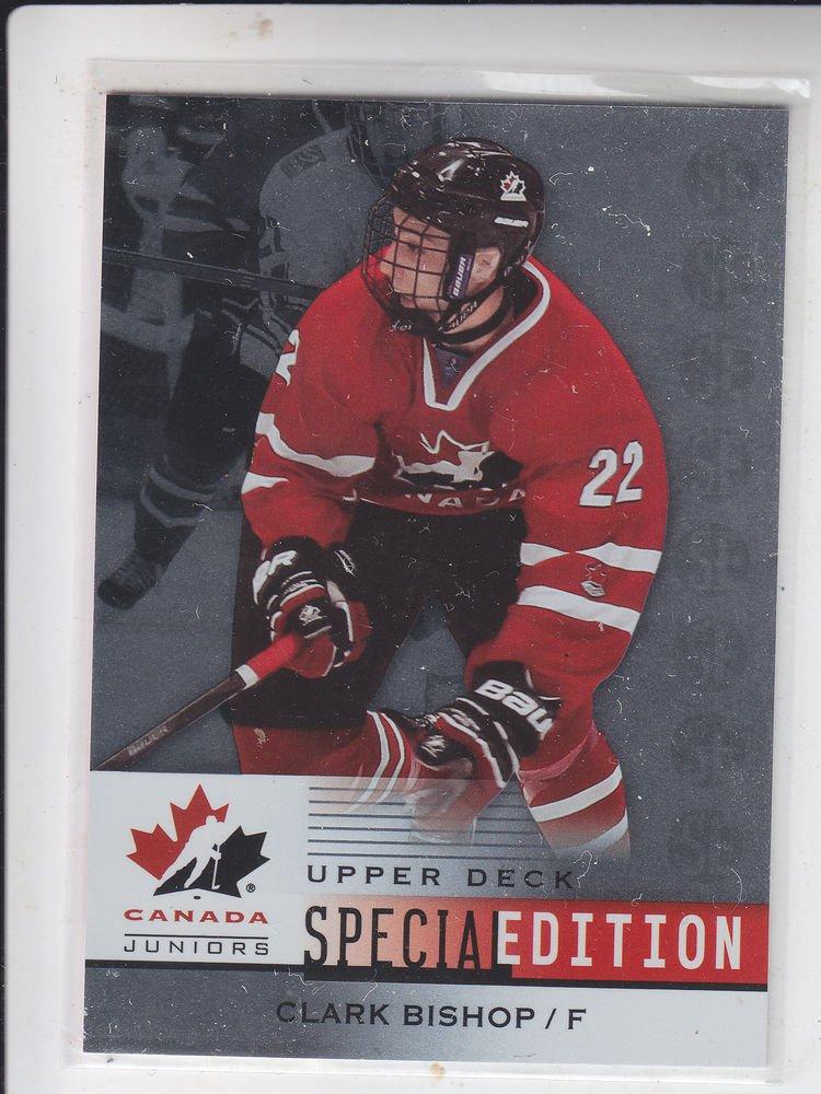 Clark Bishop Special Edition  2014 UD Team Canada Juniors #SE33 Hurricanes