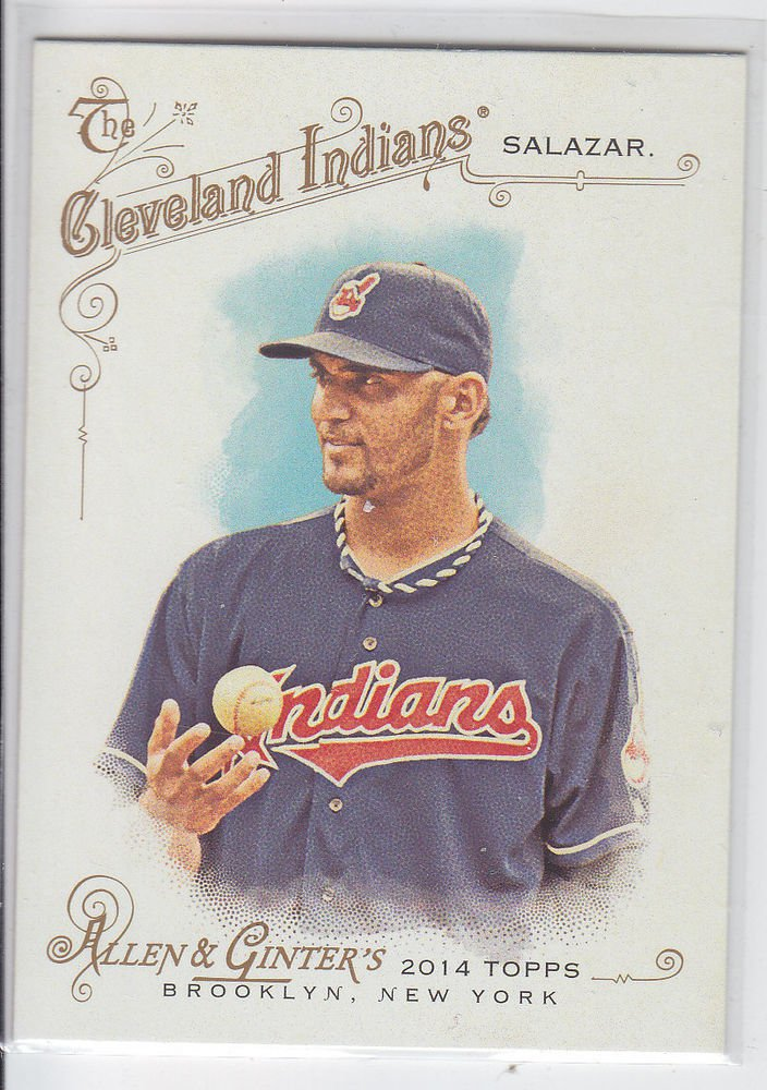 Danny Salazar Trading Card Single 2014 Topps Allen & Ginter #222 Indians