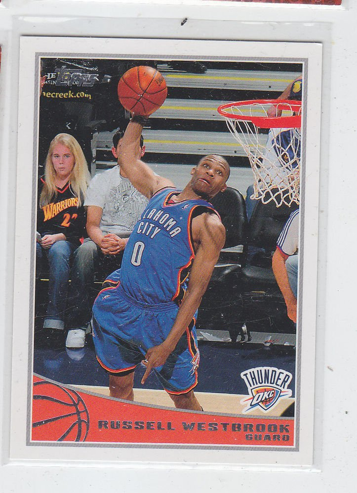 Russell Westbrook 2009-10 Topps #206 Thunder