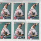 Charles Nagy Trading Card Lot of (6) 1993 Donruss #141 Indians