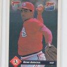 Rene Arocha Rated RC Trading Card Single 1993 Donruss #572 Cardinals