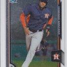 Domingo Santana Prospect Trading Card Single 2015 Bowman Chrome #BCP109 Astros