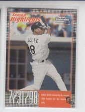 Albert Belle Trading Card Single 1999 Fleer Sports Illlustrated #28 Indians