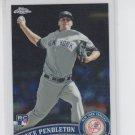 Lance Pendleton RC Trading Card Single 2011 Topps Chrome #196 Yankees