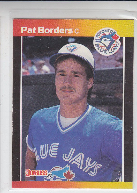 Pat Borders RC Trading Card Single 1989 Donruss #560 Blue Jays DP
