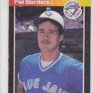Pat Borders RC Trading Card Single 1989 Donruss #560 Blue Jays DP