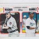 Hanley Ramirez Honus Wagner Legenday Lineage 2010 Topps #LL9 Red Sox