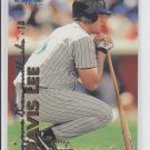Travis Lee Trading Card Single 1999 Fleer Tradition #10 Diamondbacks