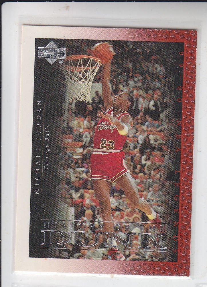 Michael Jordan History of the Dunk 2000 Upper Deck Century Legends #66 Bulls