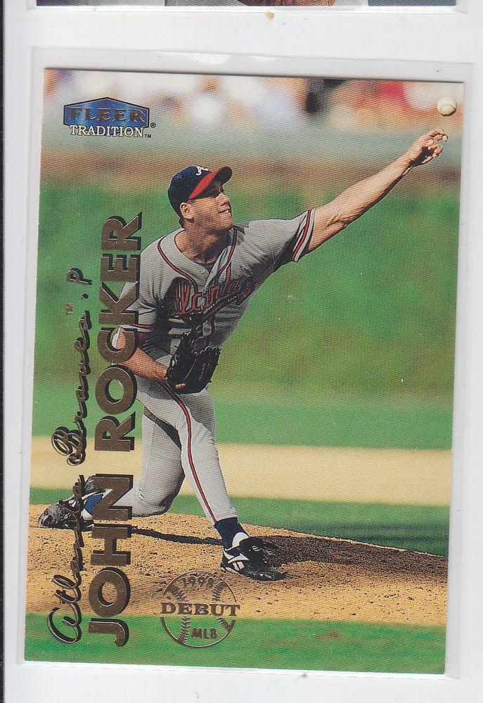 John Rocker Trading Card Single 1999 Fleer Tradition #280 Braves