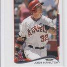 Josh Hamilton Trading Card Single 2014 Topps Mini #575 Angels Rangers